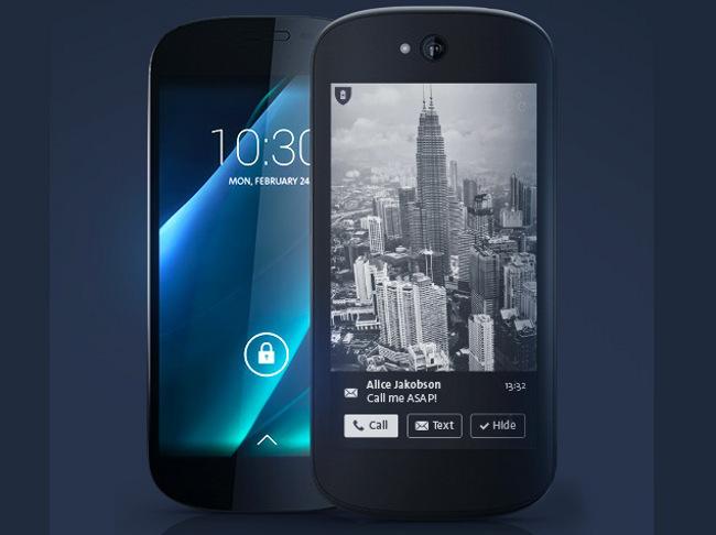 YotaPhone 2 YotaPhone 2 : Un concurrent de liPhone à double écran