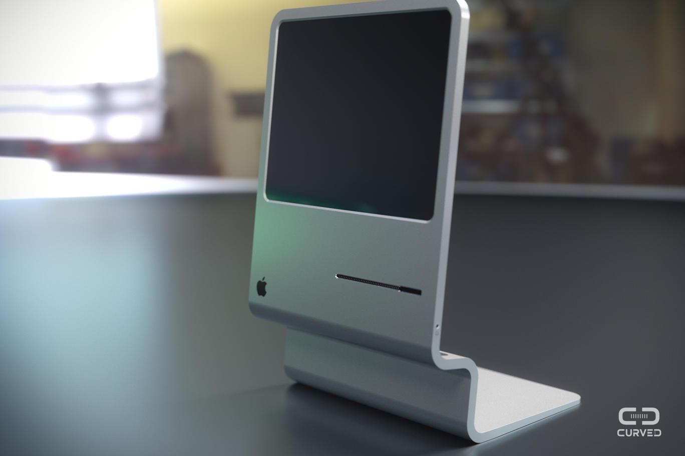 12 Un concept futuriste en hommage au premier Macintosh