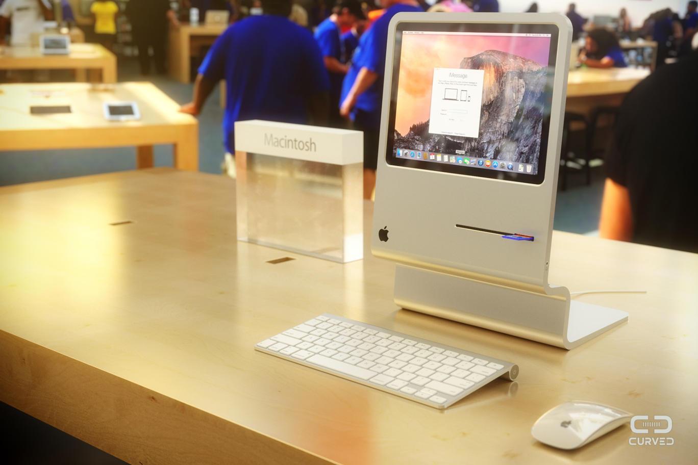 18 Un concept futuriste en hommage au premier Macintosh