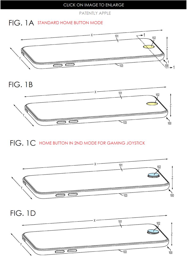 6a0120a5580826970c01b7c736e544970b 800wi Nouveau brevet dApple pour un joystick intégré à liPhone