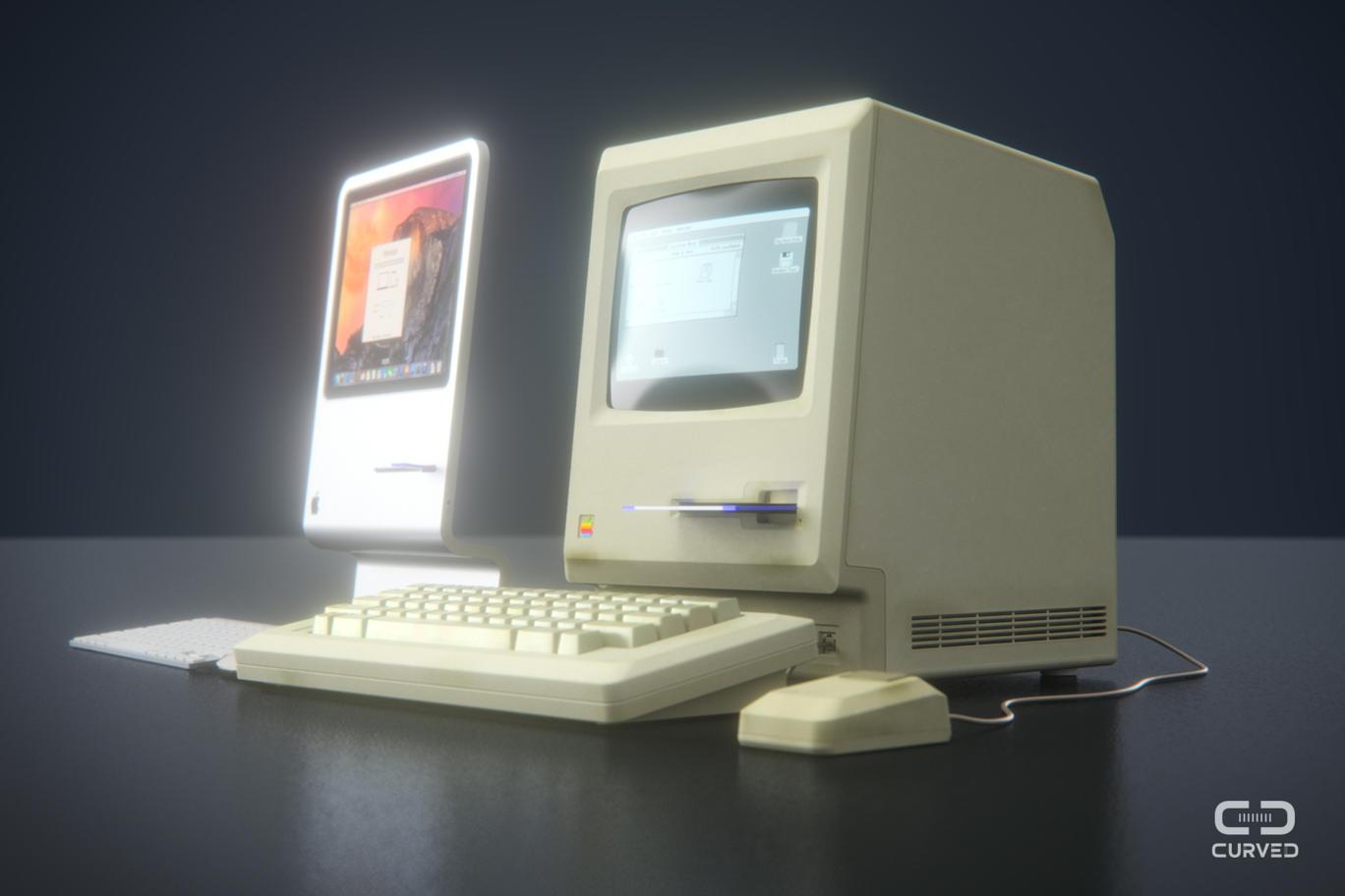 8 Un concept futuriste en hommage au premier Macintosh