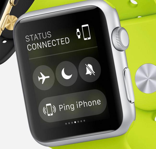 Apple Watch pourra aussi piloter l iPhone a distance 1 La bêta 4 diOS 8.2 nous en apprend plus sur lApple Watch