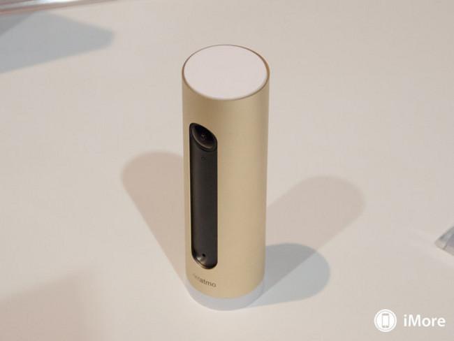 CES camera connectee Netatmo consultable depuis Apple Watch 1 CES: Netatmo présente sa caméra connectée à lApple Watch
