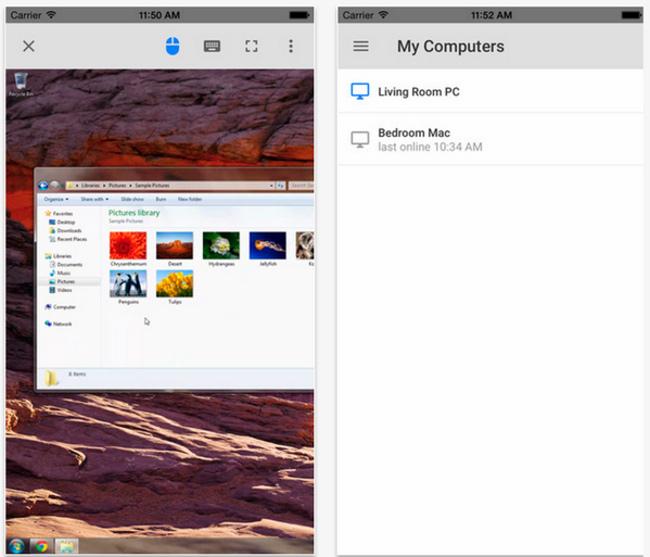 Google lance Chrome Remote Desktop sur iOS Google lance Chrome Remote Desktop sur iOS
