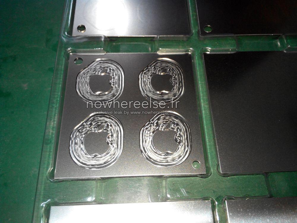 Logo MacBook Air 12 001 Voici le logo non lumineux du Macbook Air 12 pouces