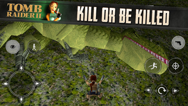 Tomb Raider II ios promo Tomb Raider II en promo sur lApp Store pour la première fois