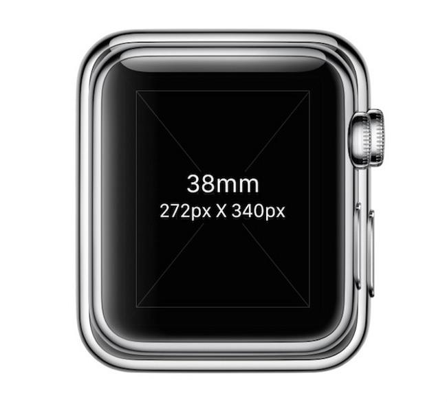 fichiers Photoshop officiels pour Apple Watch 02 Apple Watch: deux documents PSD pour les développeurs