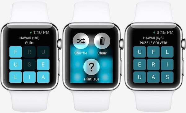 image NimbleBit Letterpad Watch game Letterpad : découvrez le premier jeu qui supporte lApple Watch