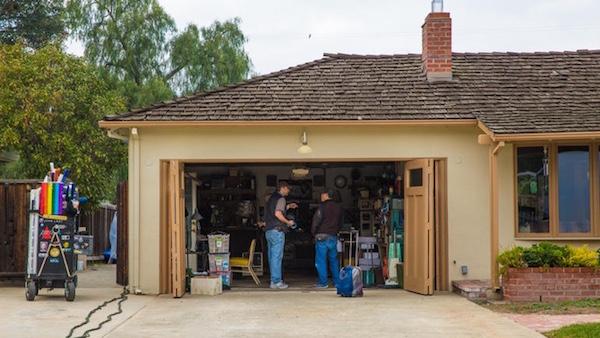 image Steve Jobs biopic filming Le tournage du biopic de Steve Jobs va démarrer dans son garage
