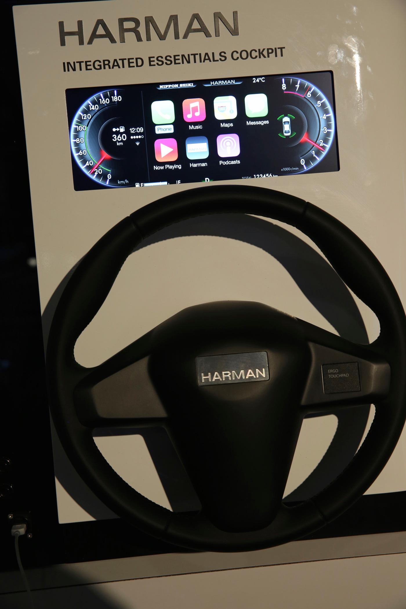 img 7697 Harman intègre CarPlay dans les compteurs