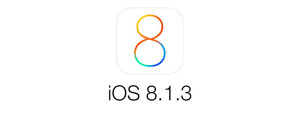 ios 8 1 3 iOS 8.1.3 pour la semaine prochaine ?