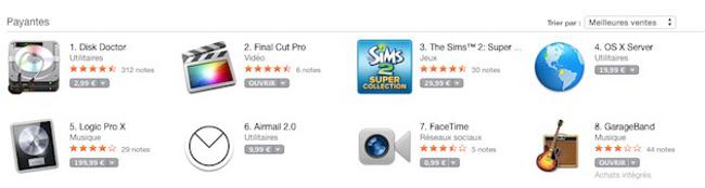 les prix ont augmente dans le mac app store App Store : les prix ont augmenté comme prévu