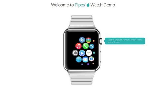 Un tr s bon simulateur de l 39 apple watch disponible en for Simulateur porte logique en ligne