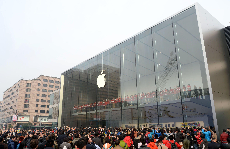 462055966 Découvrez lApple Store dHangzhou à létage flottant