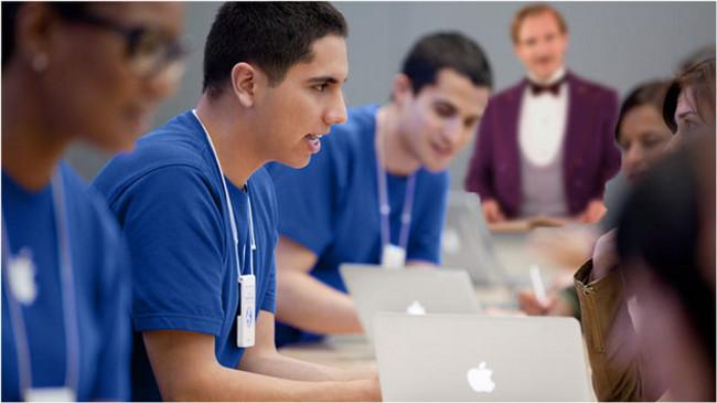 Apple Genius Bar et service Concierge Apple Store: Un nouveau service Concierge pour les clients