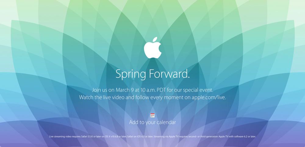Apple conférence 9 mars Lévènement dApple du 9 Mars sera diffusé en direct