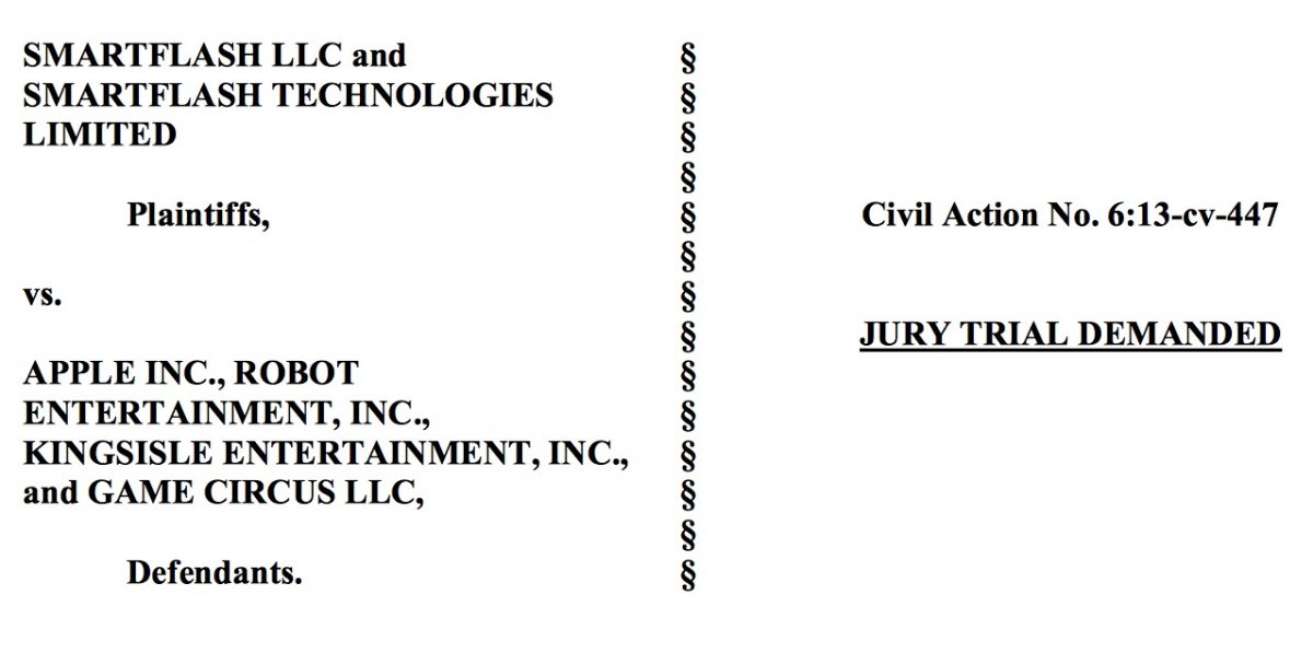 Apple vs Smartflash LLC Brevet: Grosse amende de 532,9 millions $ pour Apple