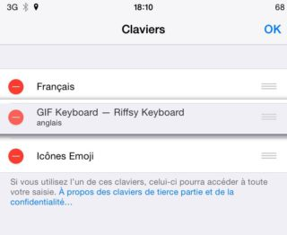 Claviers 320x262 [Cydia] Keyboard Accio : basculer rapidement entre deux claviers