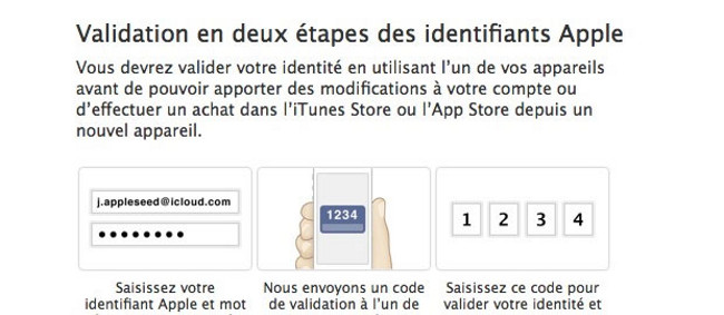 apple validation deux etape iMessage et FaceTime Apple: Validation en deux étapes pour iMessage et FaceTime