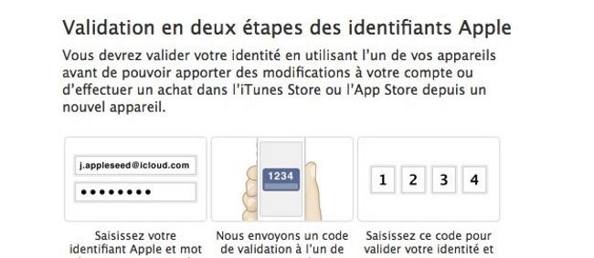 apple validation deux etape iMessage et FaceTime Apple: Validation en deux étapes pour iMessage et FaceTime