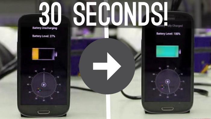 batterie StoreDot Nos smartphones rechargés en seulement 1 minute dès 2016 ?