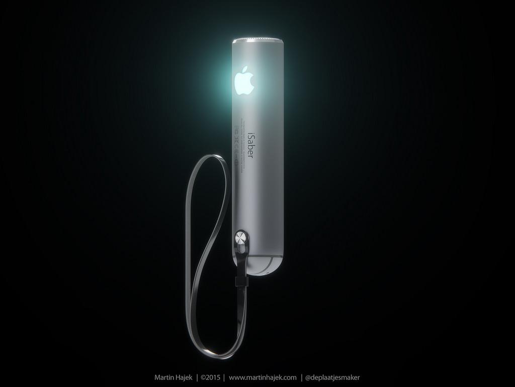 iSaber sabre laser d Apple 003 Découvrez liSaber: le sabre laser dApple selon Hajek