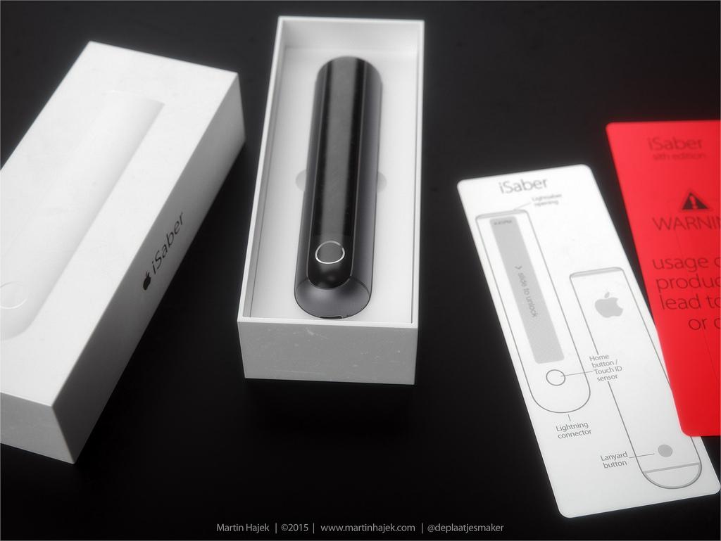 iSaber sabre laser d Apple 008 Découvrez liSaber: le sabre laser dApple selon Hajek