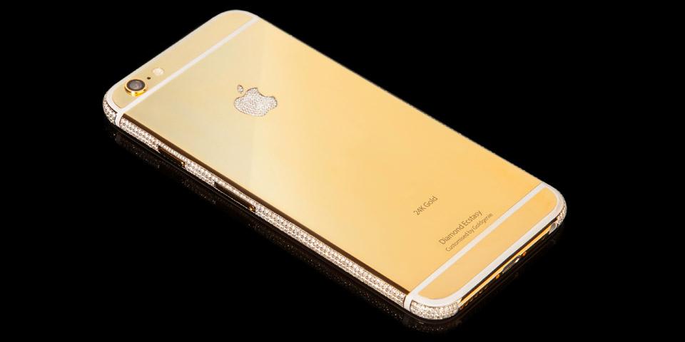 iphone6 diamond ecstasy gold 1 LiPhone 6 qui valait 3,49 millions de dollars