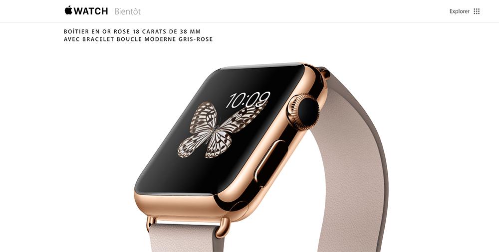 Apple Watch Edition Les acheteurs dApple Watch Edition auront le droit à plus dattention