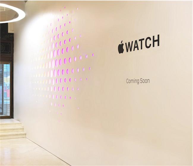 Apple Watch Londres Apple va ouvrir des mini Stores pour vendre lApple Watch