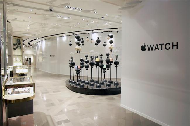 Apple Watch Paris Galeries Lafayette Apple va ouvrir des mini Stores pour vendre lApple Watch