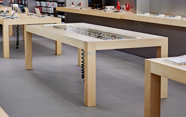 Apple Watch essais Apple Store 001 Les commandes et les ventes dApple Watch stagnent déjà