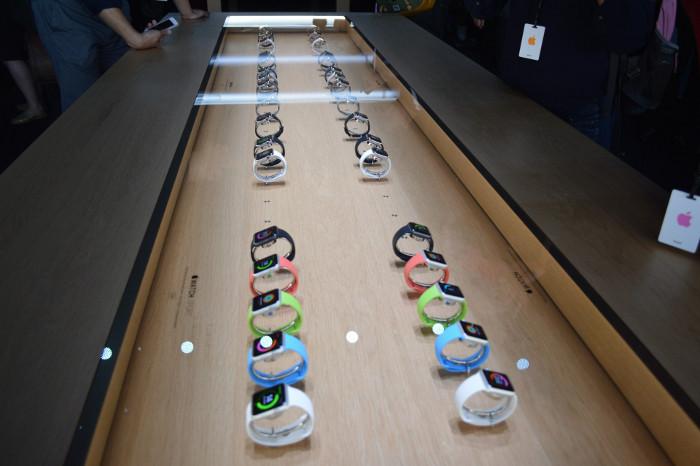 Apple watch apple store Apple Watch: Pas déchange de bracelets lors des essais