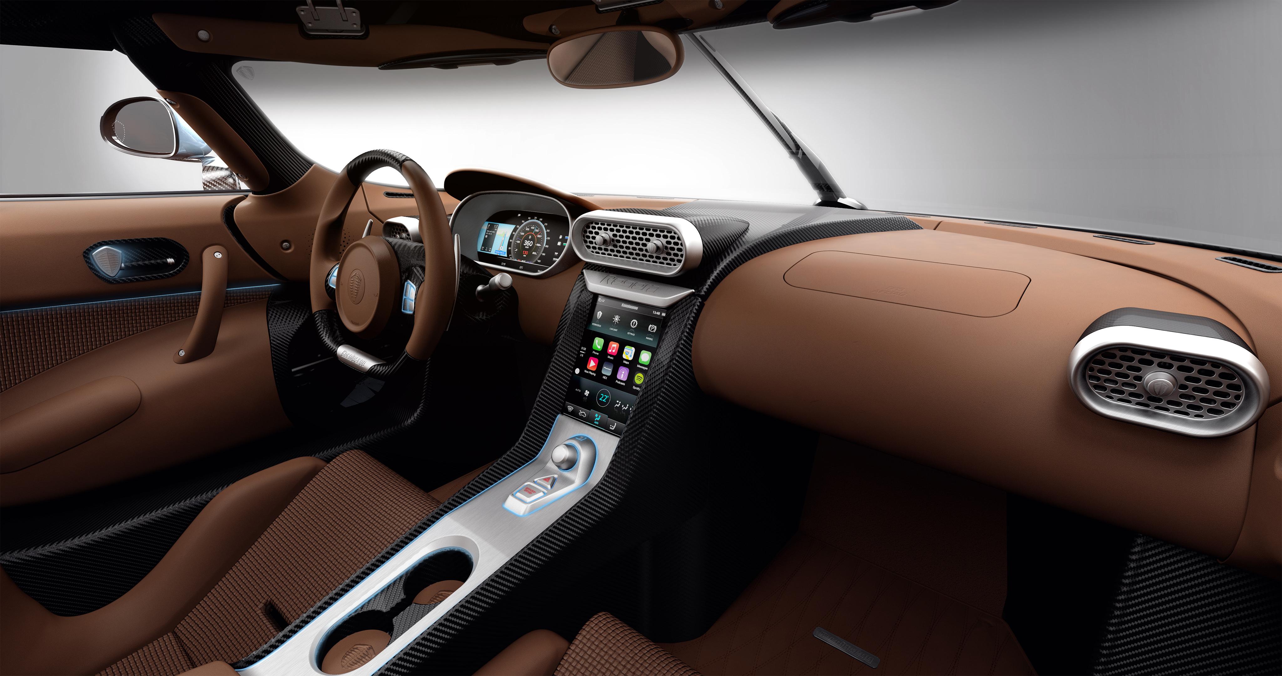 CarPlay Koenigsegg Regera Une nouvelle supercar embarque CarPlay