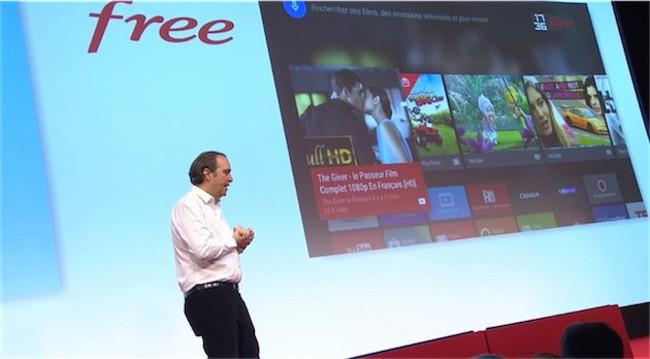 Free keynote 002 Keynote Free: La surprise c'était la nouvelle Freebox mini 4K