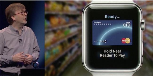 Kevin Lynch apple pay De nouvelles fonctions pour l'Apple Watch