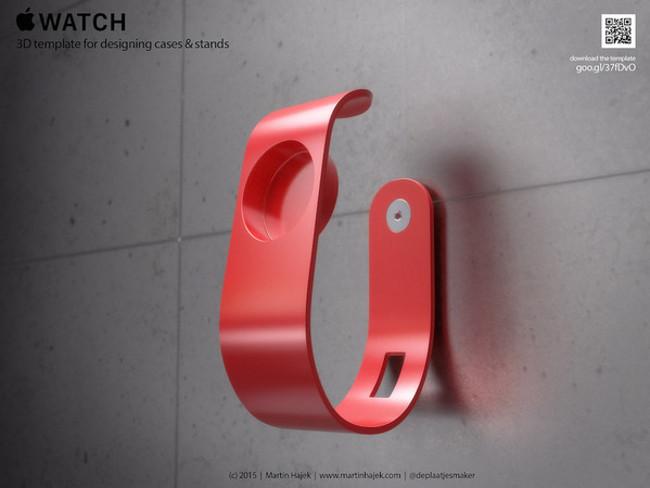 Martin Hajek templates apple watch 002 Apple Watch: Créez vos propres supports et coques
