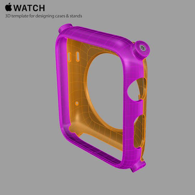 Martin Hajek templates apple watch 004 Apple Watch: Créez vos propres supports et coques