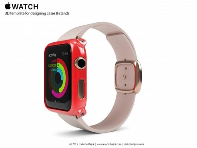 Martin Hajek templates apple watch 006 Apple Watch: Créez vos propres supports et coques