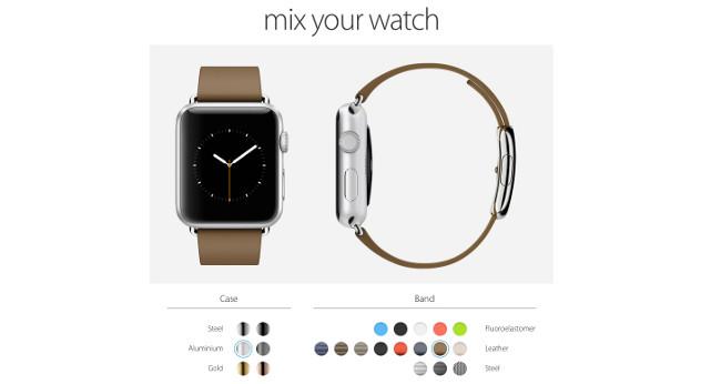 Mixyourwatch apple watch 003 Mixyourwatch : Un site pour personnaliser votre Apple Watch