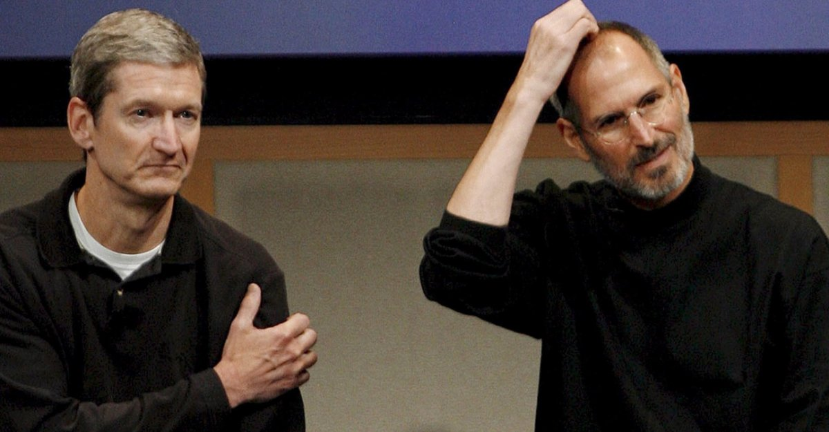 Tim Cook Steve Jobs Les révélations du livre Becoming Steve Jobs