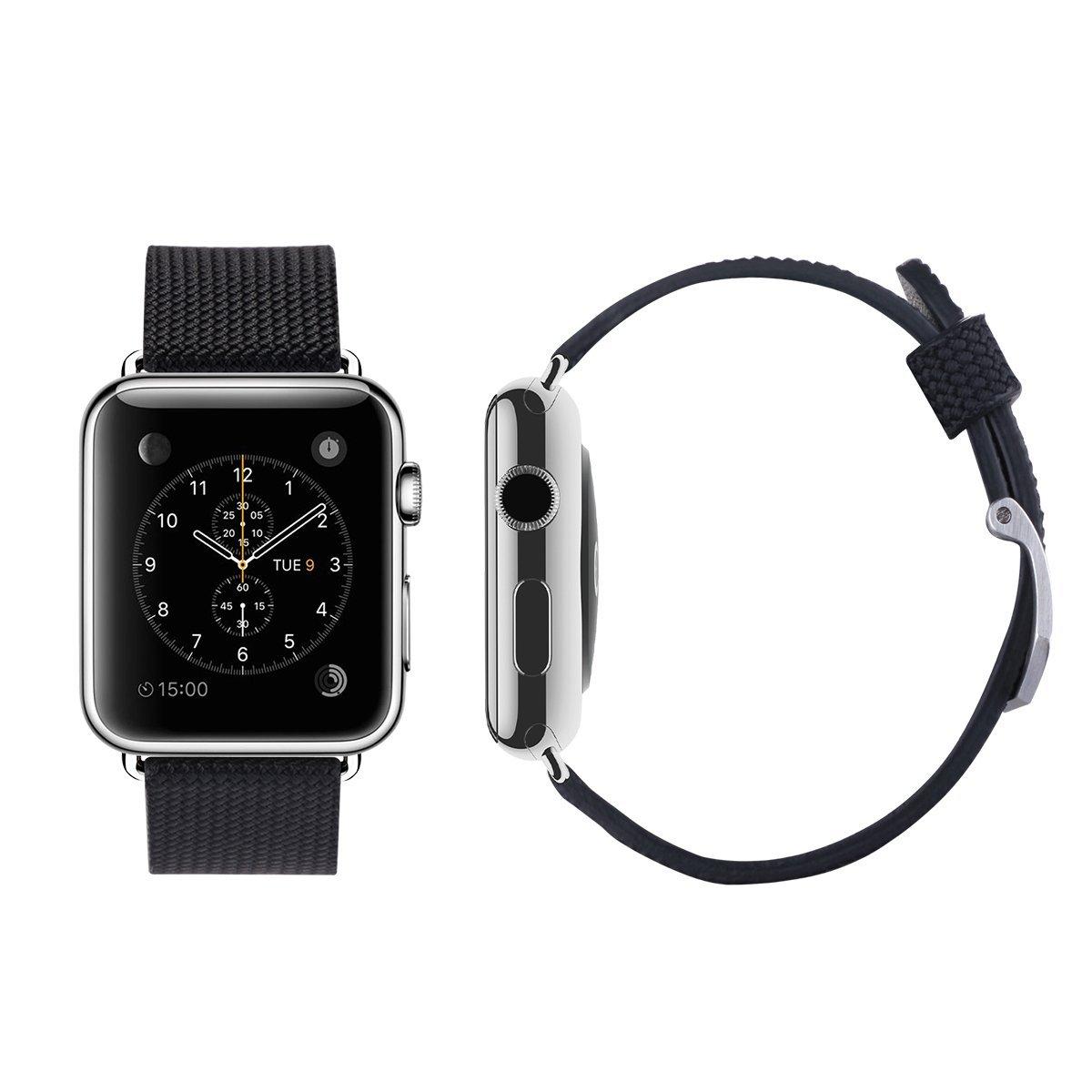 apple watch bracelet cuir 10 euros 001 Un bracelet cuir Apple Watch à 10 $, ça vous dit ?