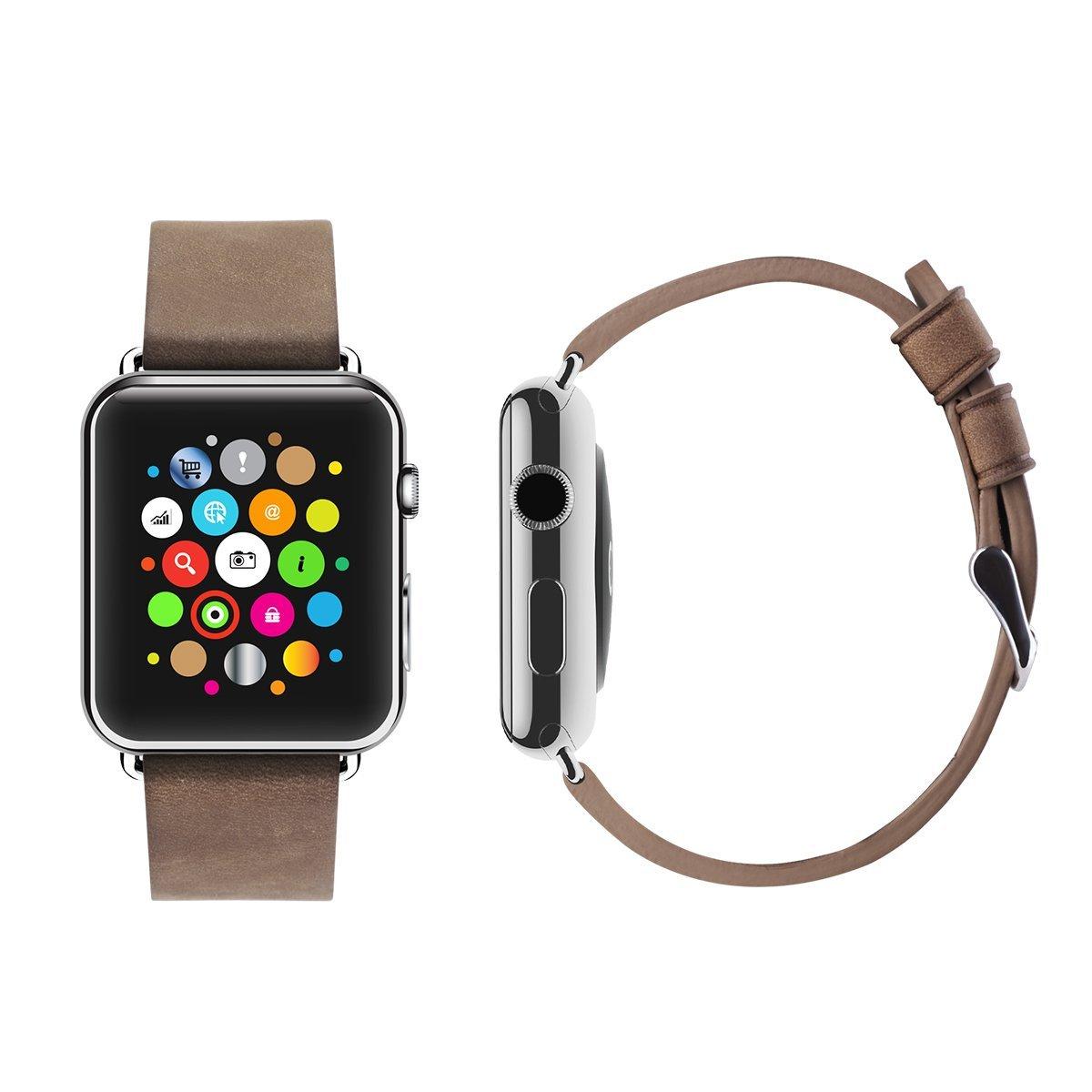 apple watch bracelet cuir 10 euros 003 Un bracelet cuir Apple Watch à 10 $, ça vous dit ?