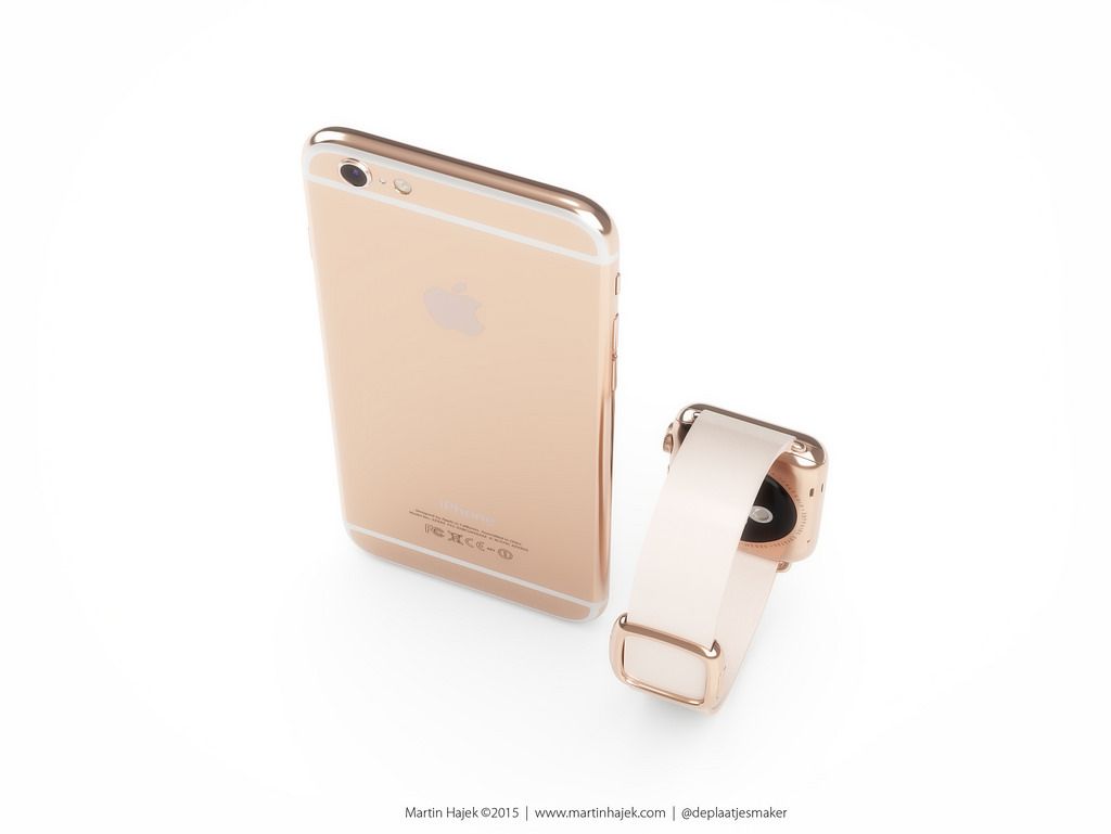 concept iphone 6S apple watch Martin Hajek 004 Concept: quand liPhone 6S sinspire de lApple Watch Edition