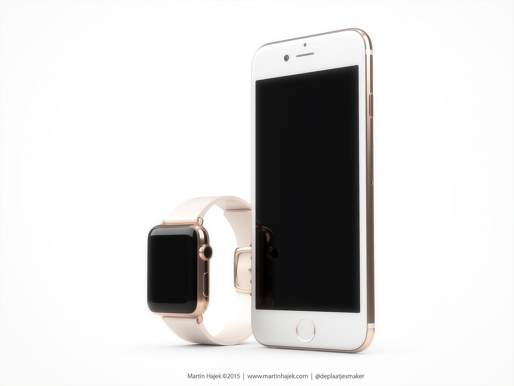 concept iphone 6S apple watch Martin Hajek 005 Concept: quand liPhone 6S sinspire de lApple Watch Edition