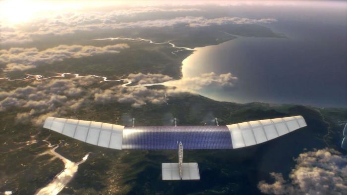 drone facebook aquila Premier test réussi pour le drone Aquila de Facebook