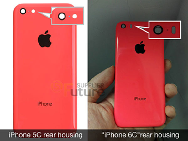 iPhone 6C Rear Housing 11 Premières photos dune coque diPhone 6C ?