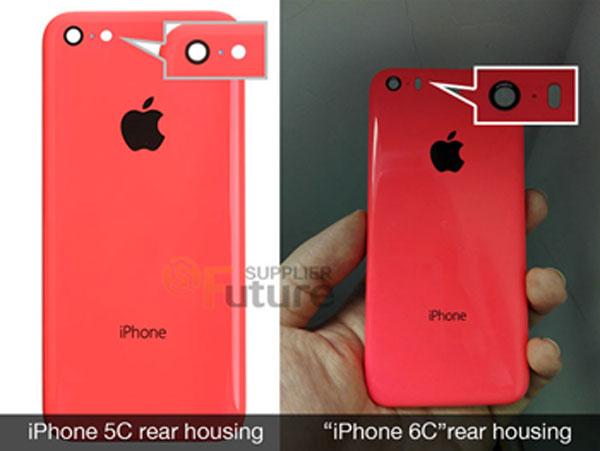 iPhone 6C Rear Housing 11 Premières photos dune coque diPhone 6C ?