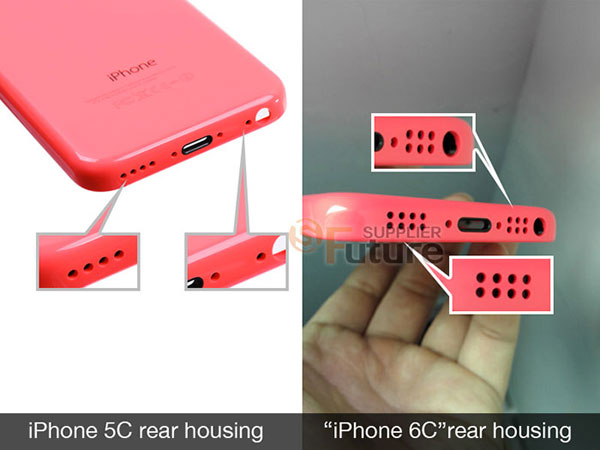 iPhone 6C Rear Housing 2 Premières photos dune coque diPhone 6C ?