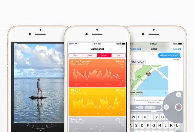 12721 6902 ios8 iphone6trio l iOS 8 : 81% dadoption selon les chiffres App Store